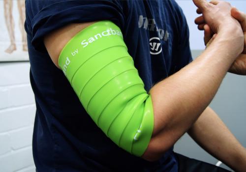 Flossbandtherapie | Flossband | Fysiotherapie Wieenhof